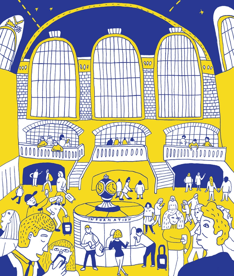 Notes York City: Grand Central  - tanyashyika | ello