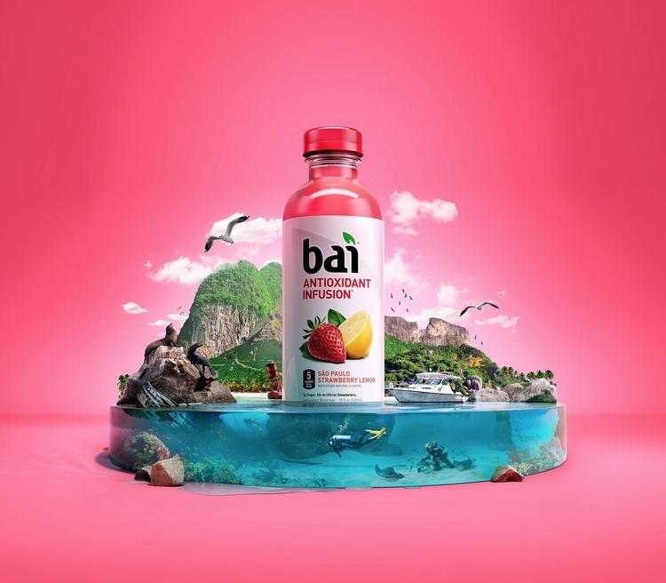 Bai Sweepstakes campaign - CGI, 3d - mikecampau | ello