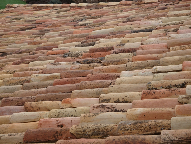 roof tiles - photography, abstract - ivop | ello