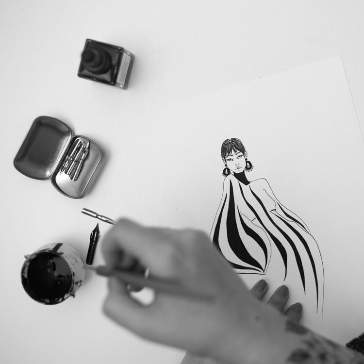 Inspiration- Peddy Moffat model - carmensart | ello