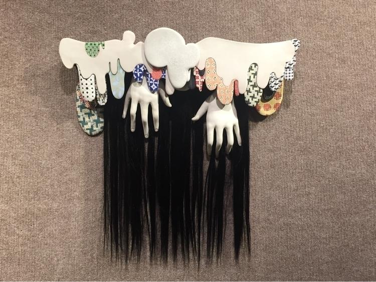 Cling 2018 - ceramics, hair, sculpture - april_d_felipe | ello