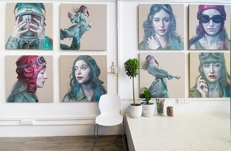 studio wall - kathrinlonghurst | ello