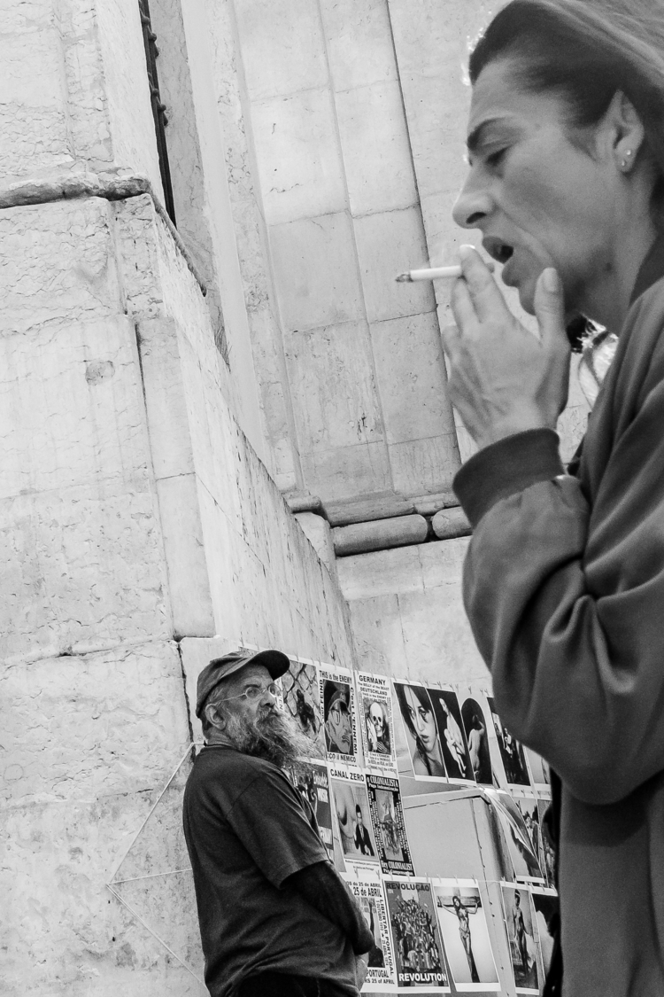 streetphotography, lisbon, blackandwhite - gilbyvm | ello