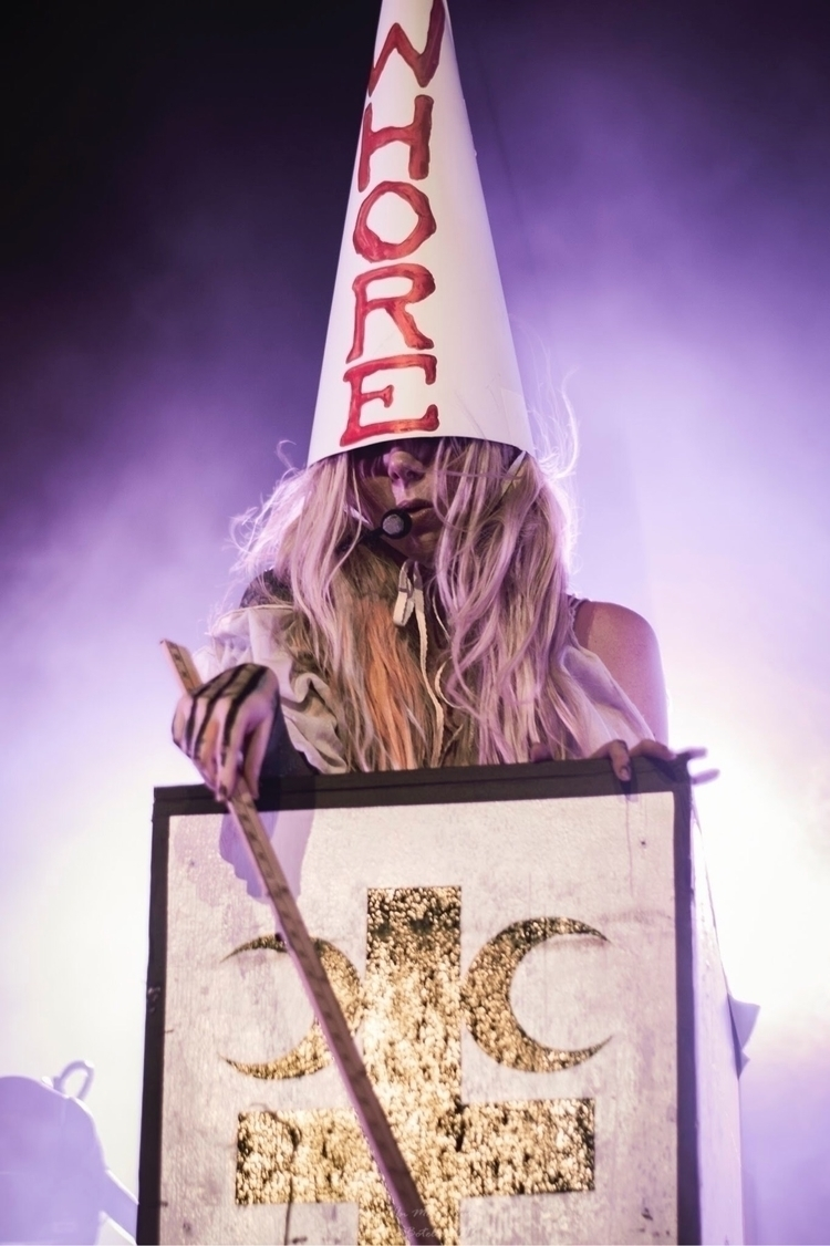 Maria Brink vocalist metal band - metalinmetalout | ello