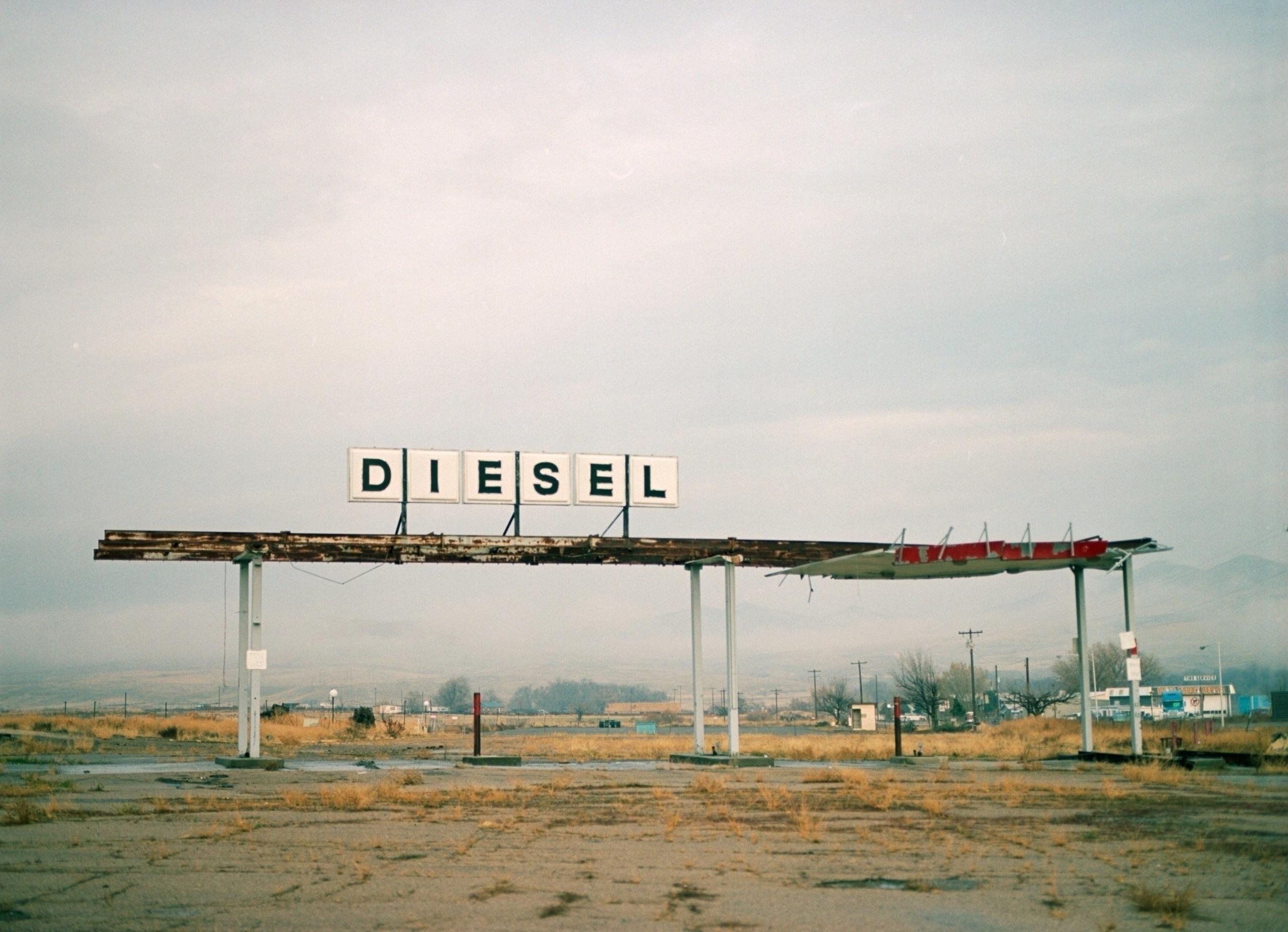 Abandoned Truck Stop Farewell B - matthhew | ello