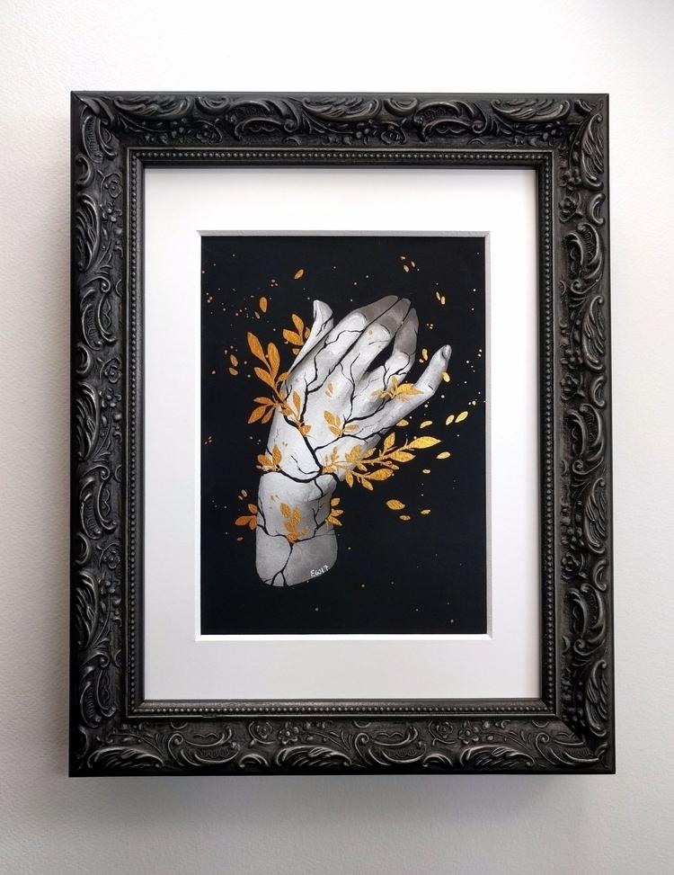 Kintsugi! paintings CHROMA Huds - ellenwilberg | ello