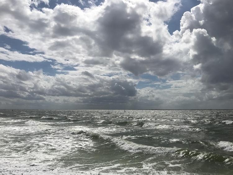Rough sea - Norderney, NorthSea - janpiatkowski | ello