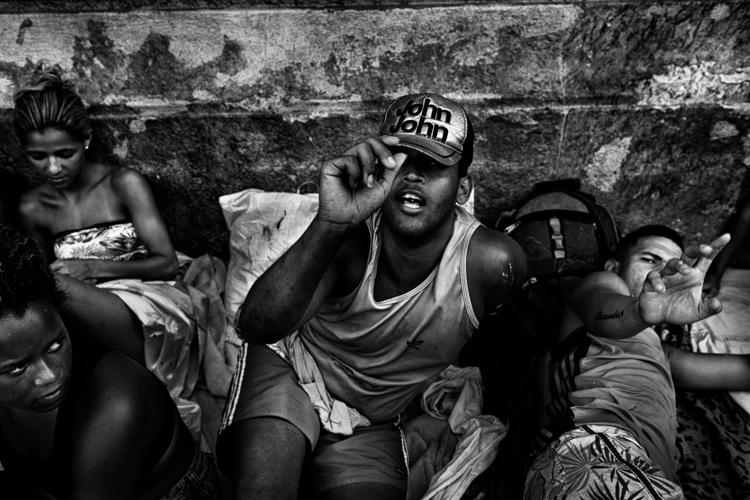Street portrait squatters. Rio  - antonio_franco | ello