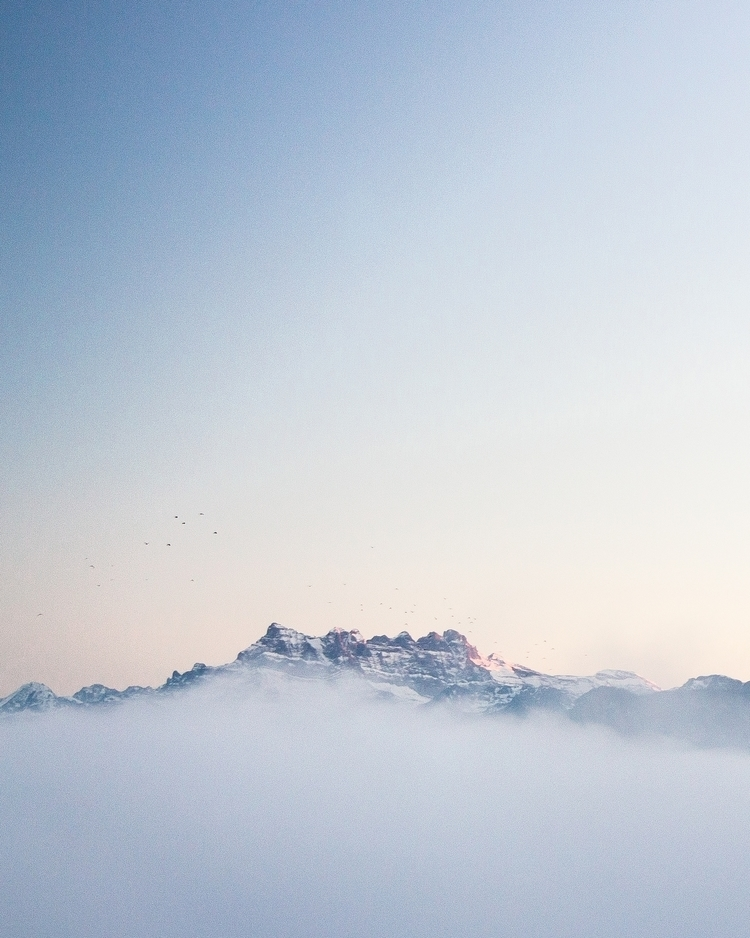 Flying peaks - switzerland, landscape - yannickpulver | ello