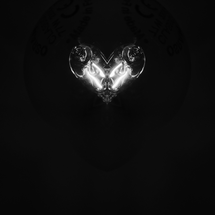 Heart BW - art, abstract, doubleexposure - cata_n | ello