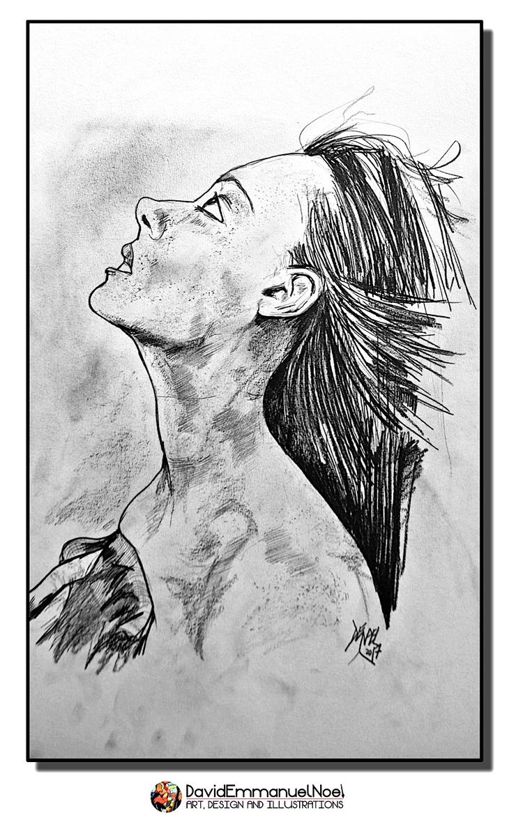 DavidEmmanuelNoel, pencil, drawings - davidenoel | ello