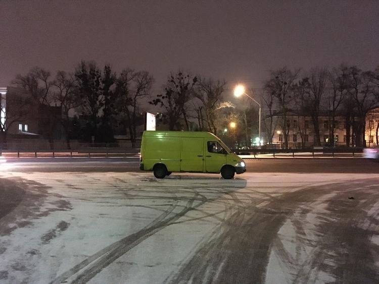 winter night Kiev - deafnder | ello