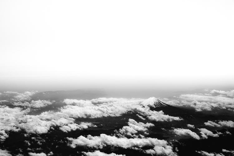 fujisan  - japan, aerial, nature - aashim_tyagi | ello