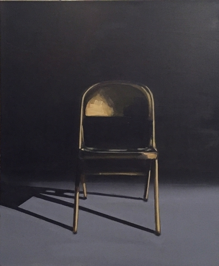 Metal Folding Chair 24x20 acryl - jeffbessart | ello