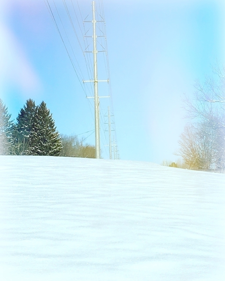 'Electric Snow Day - snow, winter - adamfjgreen | ello