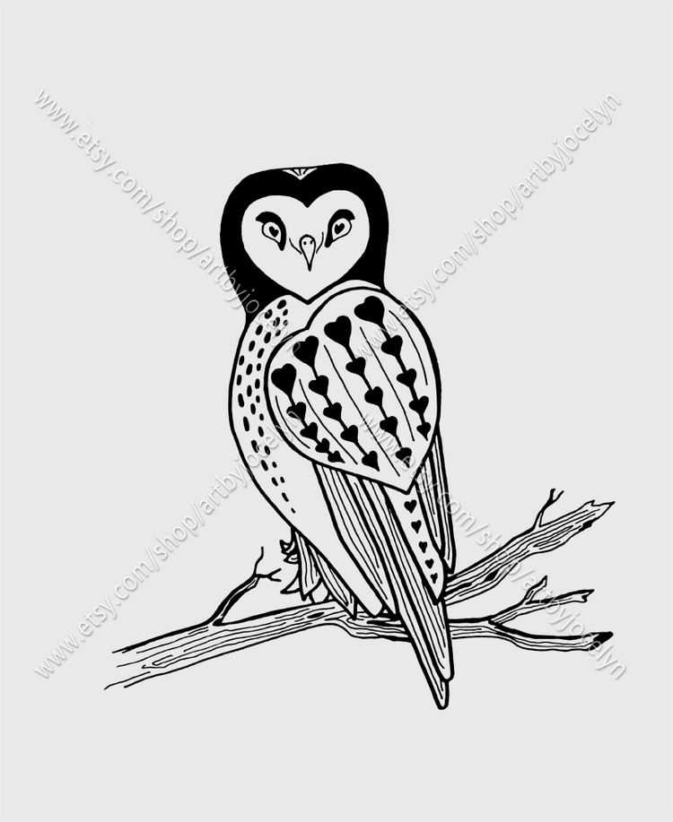 love doodling, birds, owls. swe - artbyjocelyn | ello