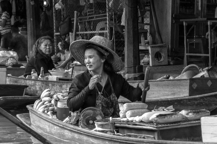 market - Thailand, floating, ellophotography - usnrmustang | ello