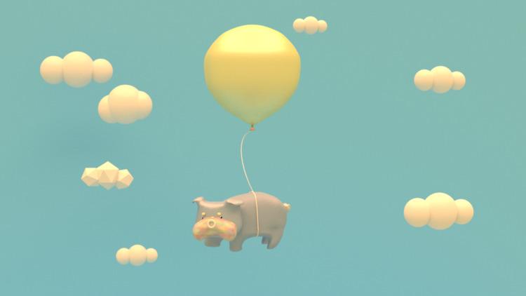 Colorful Ballons deliver Englis - sarapao_spicygummie | ello