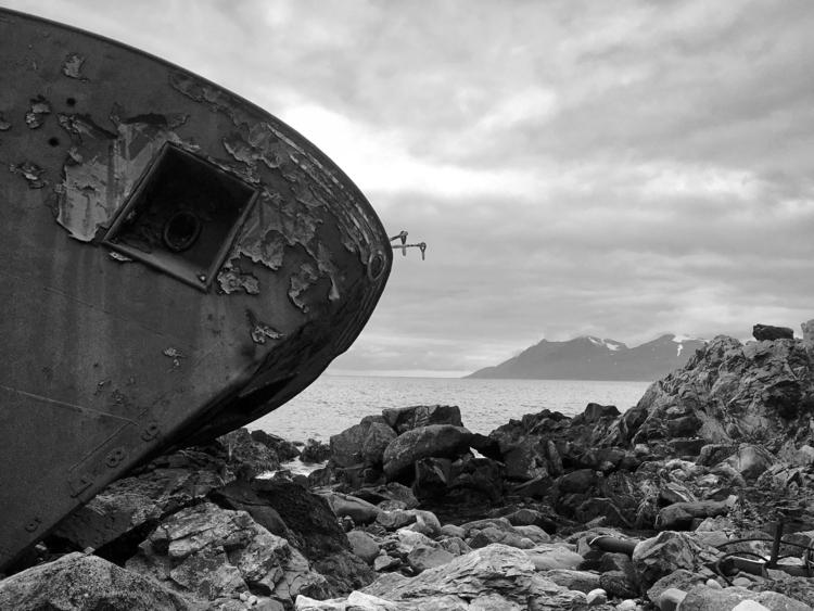 Shipwrecked - Lyngen, Norway - nature - madebydusk | ello