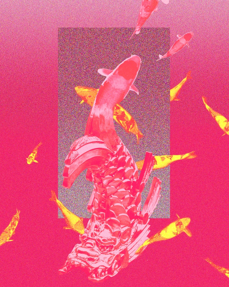 Koi Fishes.鯉魚 - koifishes, redseries - hermanchw   ello