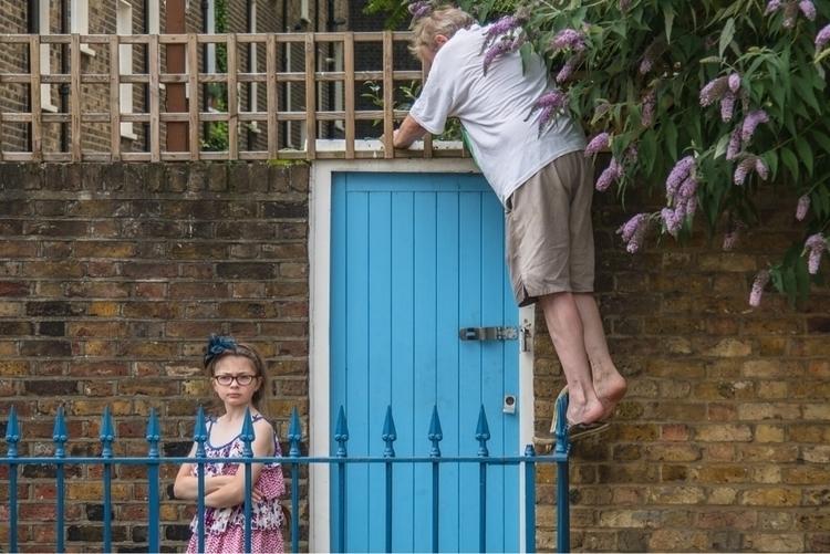Blue Door. London 2016 - michaelgoldrei | ello