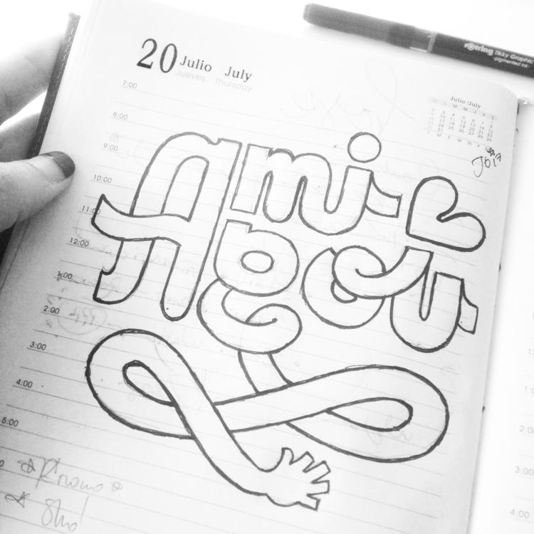 AMIGOU !! Sketches daily practi - lettergraphic | ello