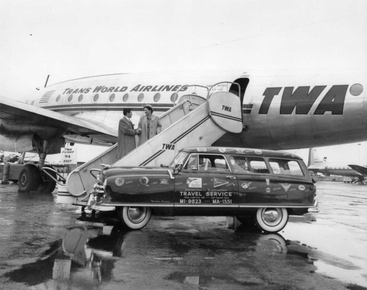 TWA, Constellation, Connie, AMC - oldendaze   ello