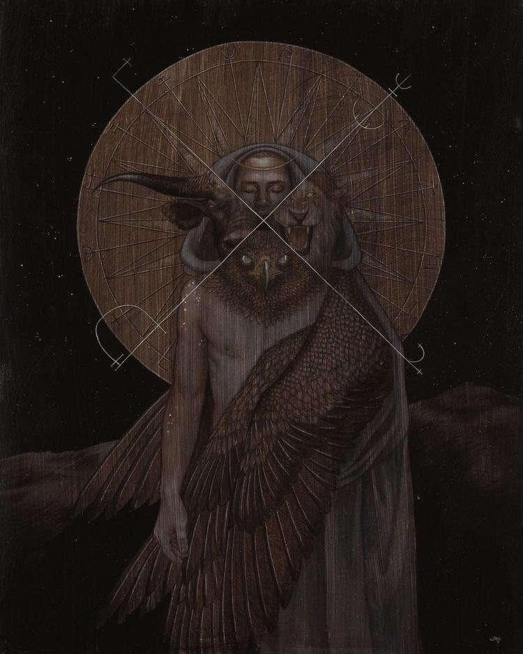 'Seraphim' 2016 painting Leilan - moderneden | ello