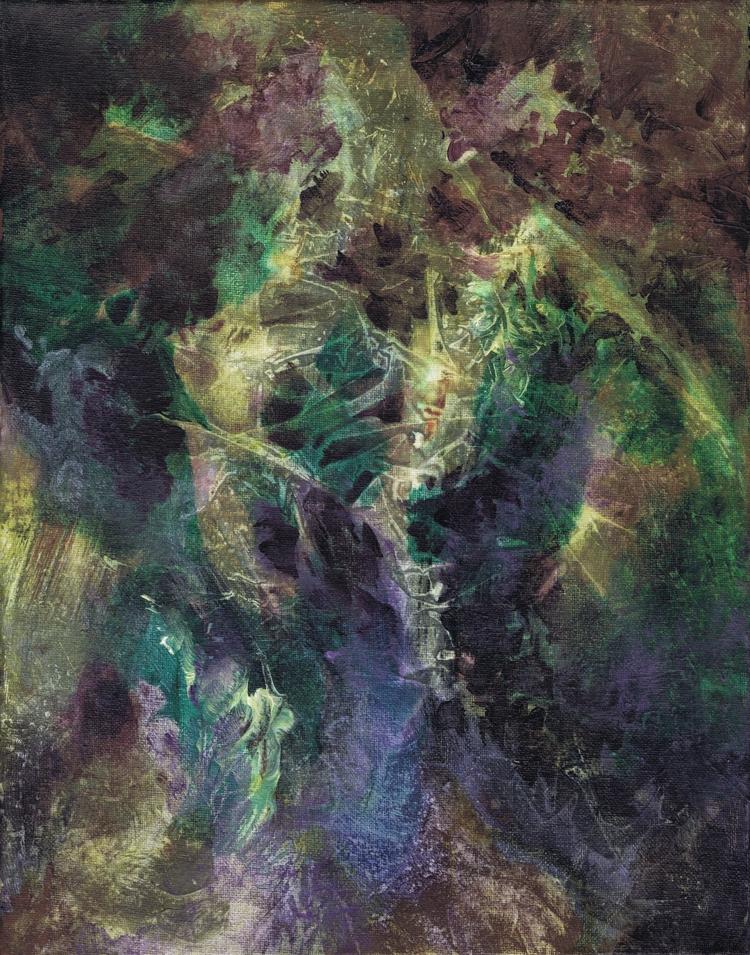 11x14 acrylic canvas 12/2017 - gkellyz | ello