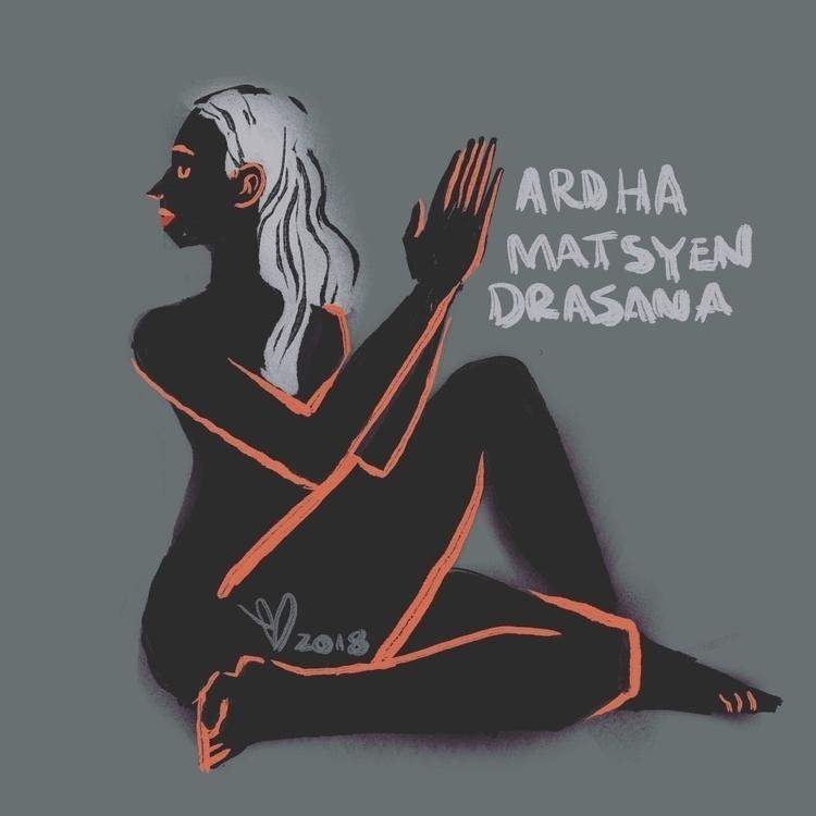 TWISTERRR - yoga, women, pose, asana - evandileo | ello