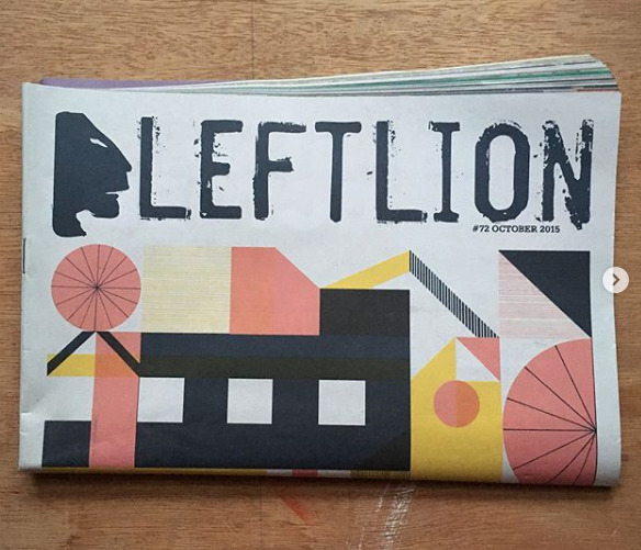 cover designed Left Lion - mikedriver | ello