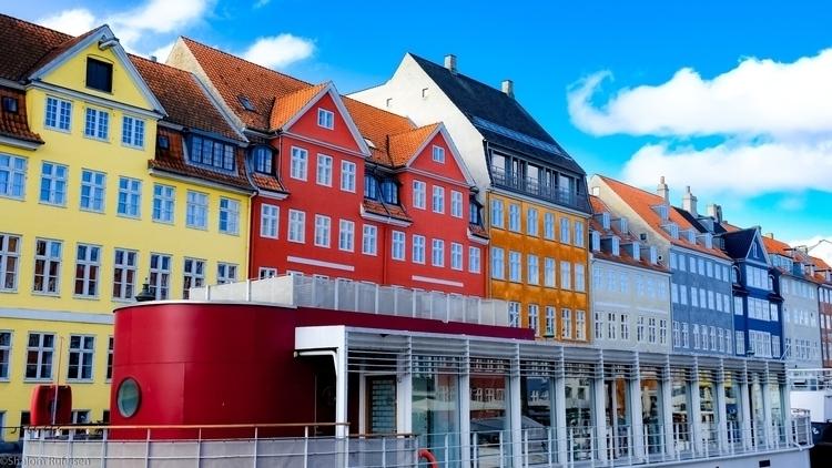 colorful tale ferry, Copenhagen - shutterstalk | ello