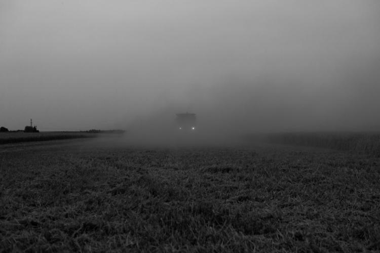 hazy trucks Alberta Canada - photography - nealedelstein | ello