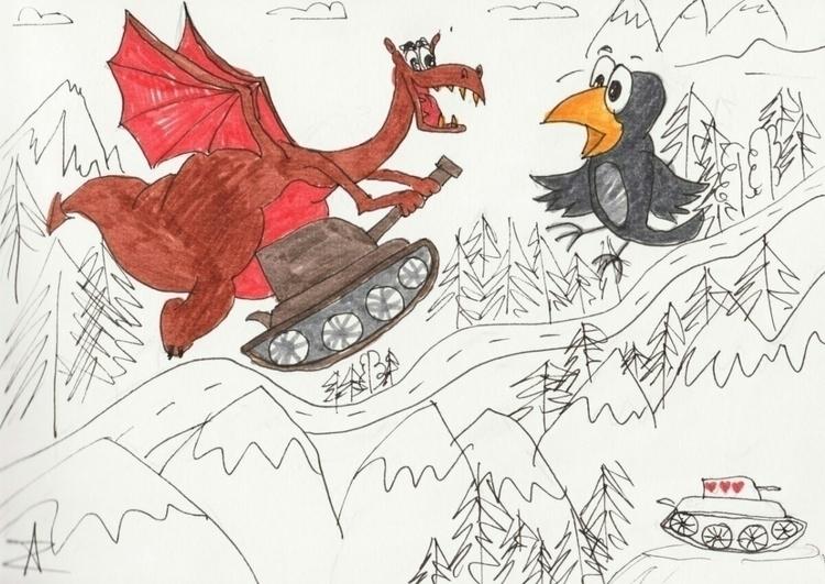 illustration story Virtual happ - anzern   ello