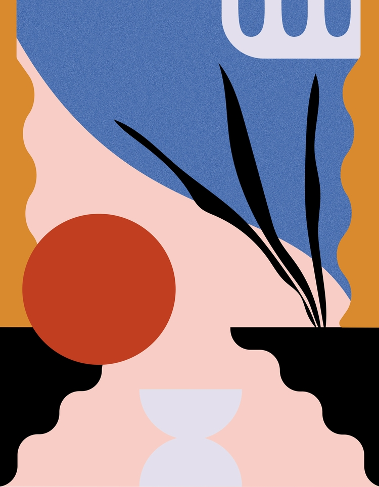 art, minimal, abstract - alejandragarcia | ello