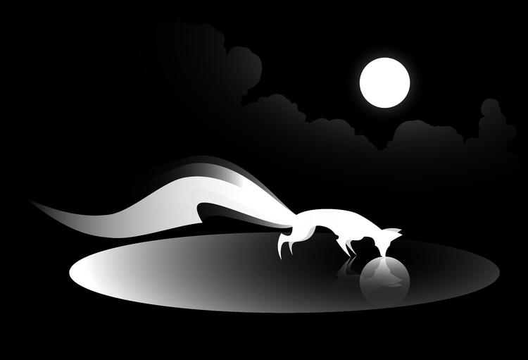 Kitsune II - digital, fox, kitsune - alex_grund | ello