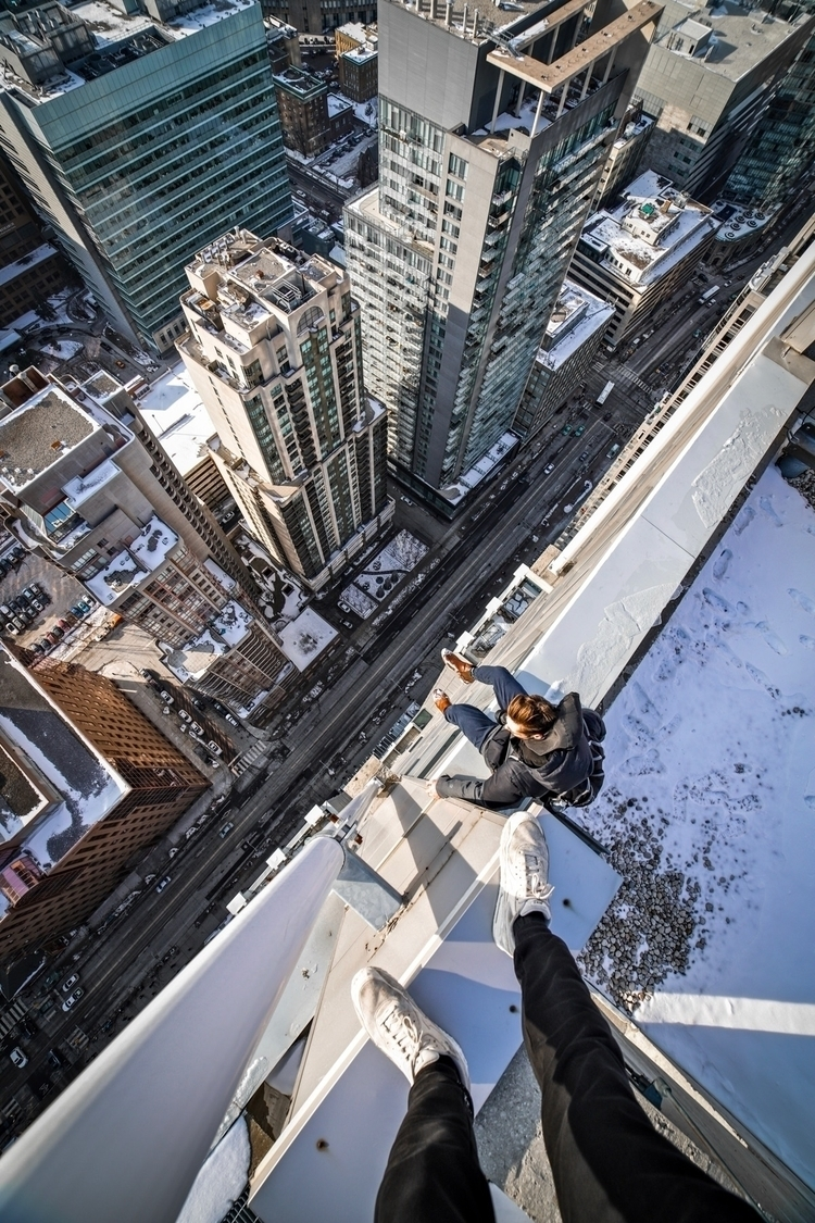 kids - urban, toronto, urbex, rooftop - jeremygilberg   ello