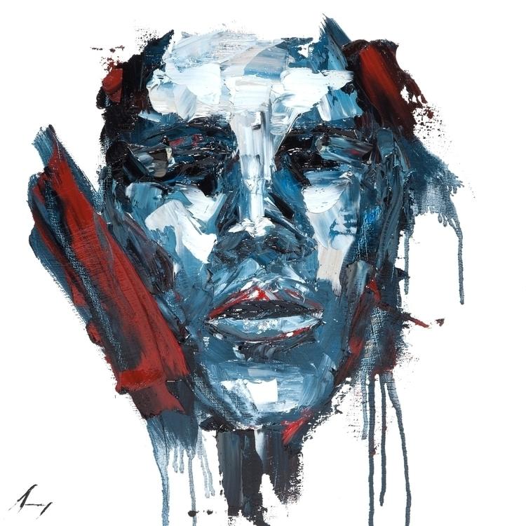 Numbed - Oil canvas 18 - art, oilpainting - brandonsavoy   ello