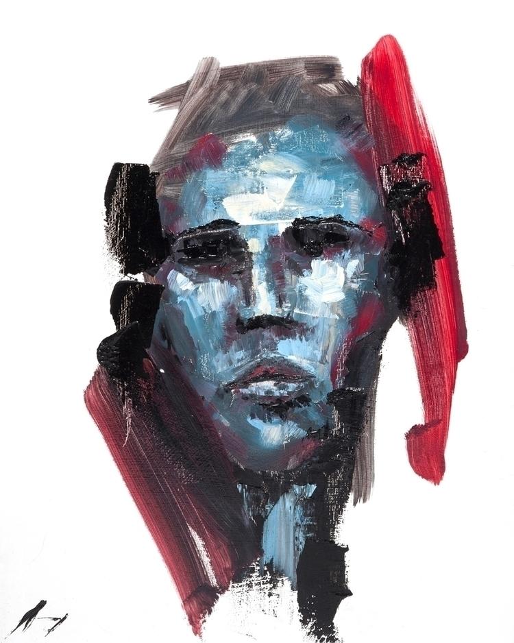 Cognition - Oil canvas 16 20 - art - brandonsavoy   ello