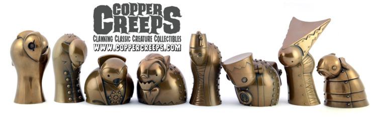 8 Copper Creeps Stock store. FR - doktor_a | ello