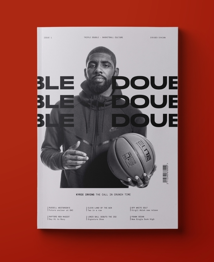 Triple Double Magazine. Issue 0 - luiscoderque | ello