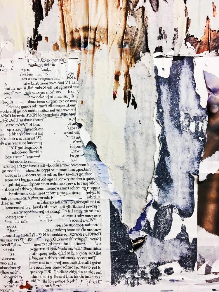 abstract, art, collage, texture - jkalamarz | ello