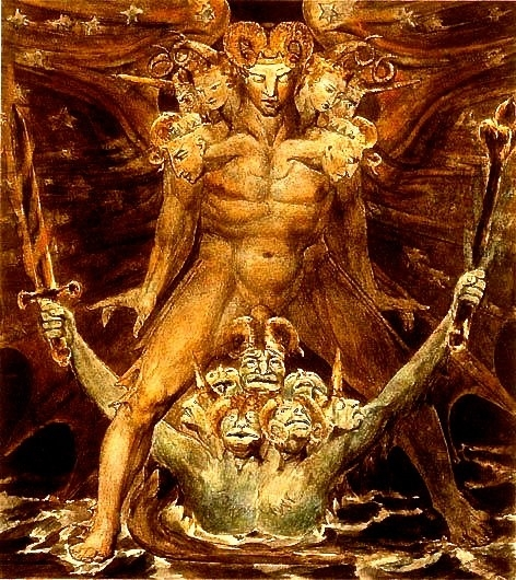 William Blake: Great Red Dragon - arthurboehm | ello