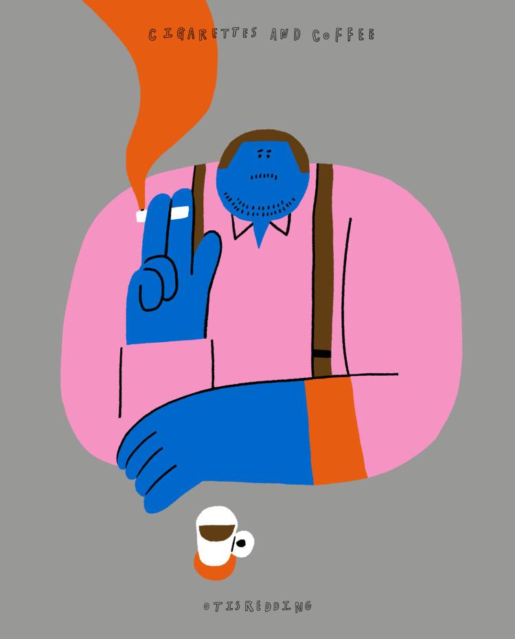 otis redding - cigarettes coffe - iamdykim | ello