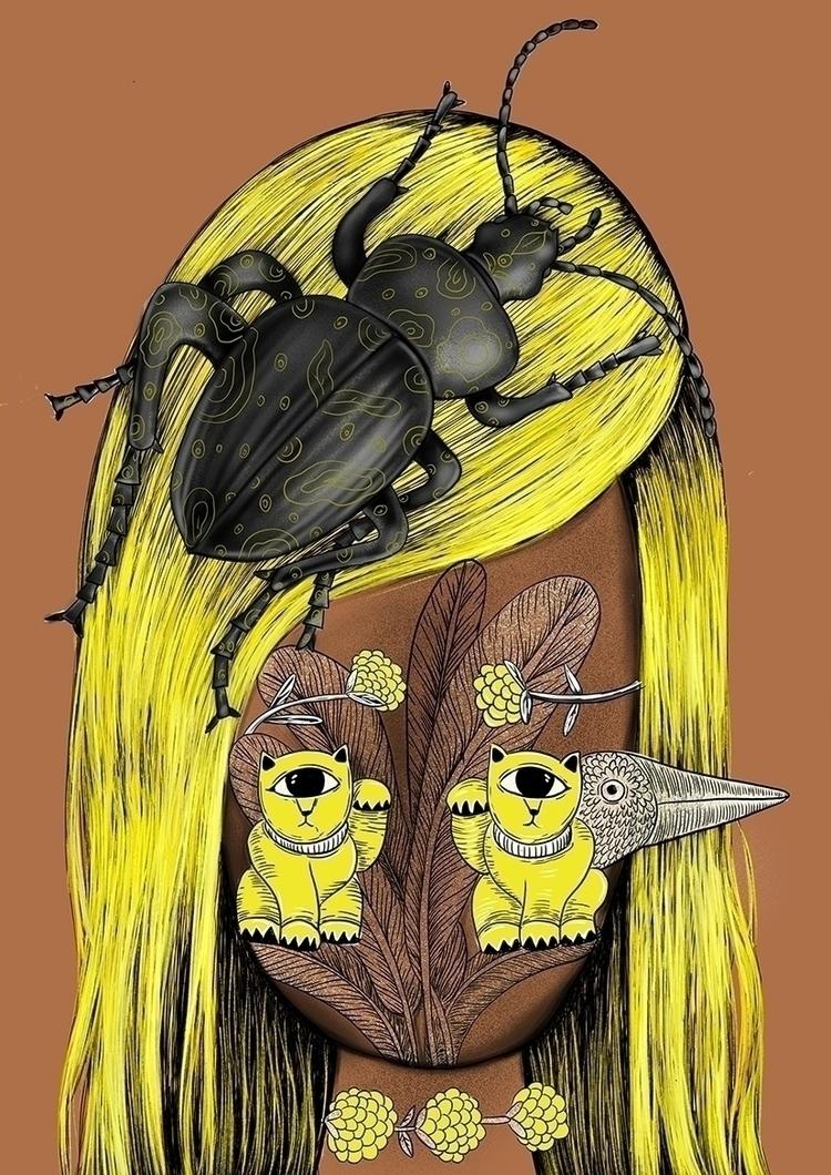 2 cats lovely beetle, intereste - loretaisac | ello