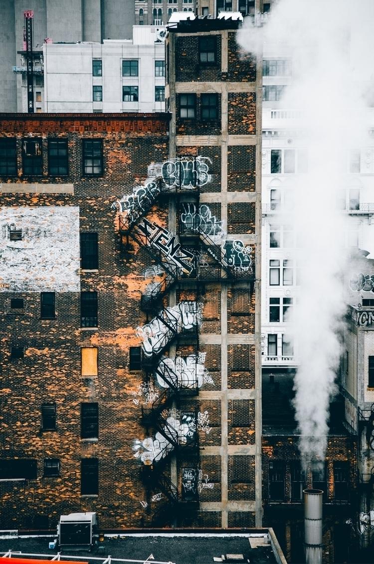 Detroit, NYC - detroit, city, landscape - lowg | ello