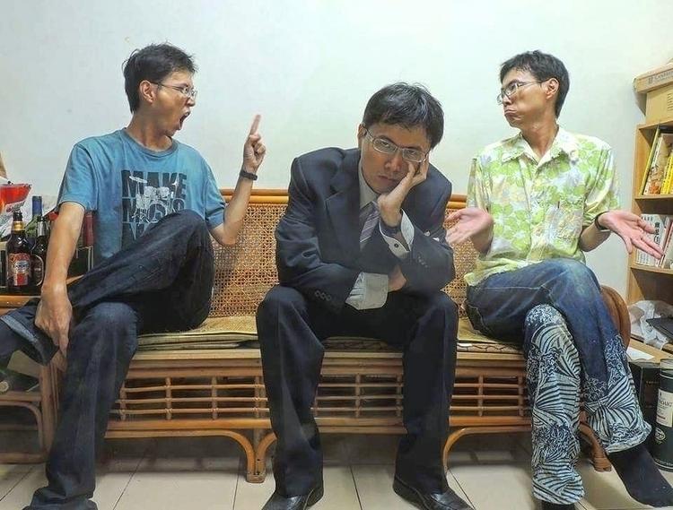 trinity, selfie, 自拍, 合成, Nikon - blattusfromtw | ello