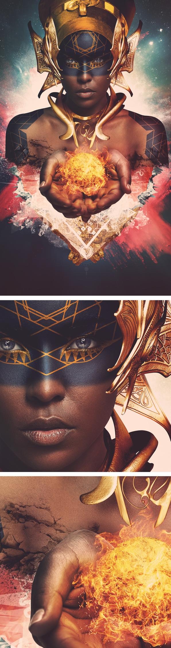 """BIRTH"" Sci-Fi series. inspired - urksdesign | ello"