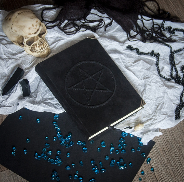 pentagram, skull, handmade, witch - dustyburrow | ello