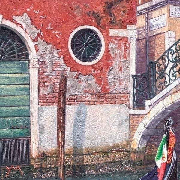 series Italian Scenes: Ponte Gi - yvonnemelchers | ello